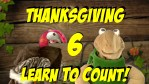 Thanksgiving Learn to Count Video