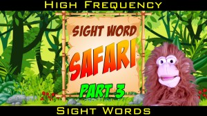 Learn to Read Part 3: Dolch Pre-k Sight Words