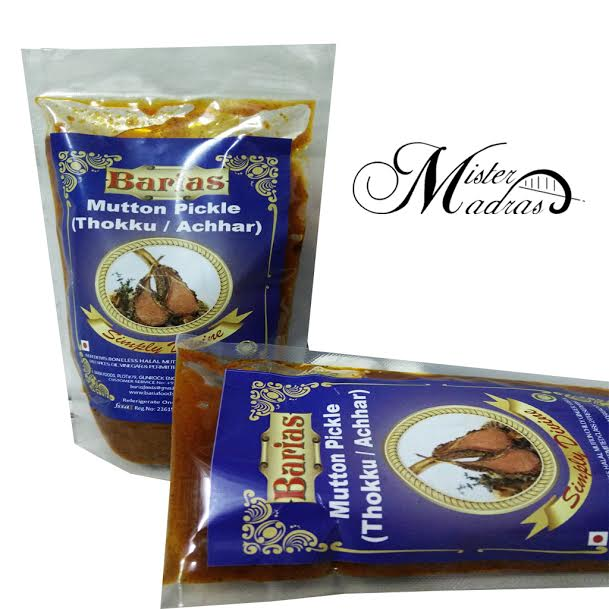 Barias Pickle Mister Madras
