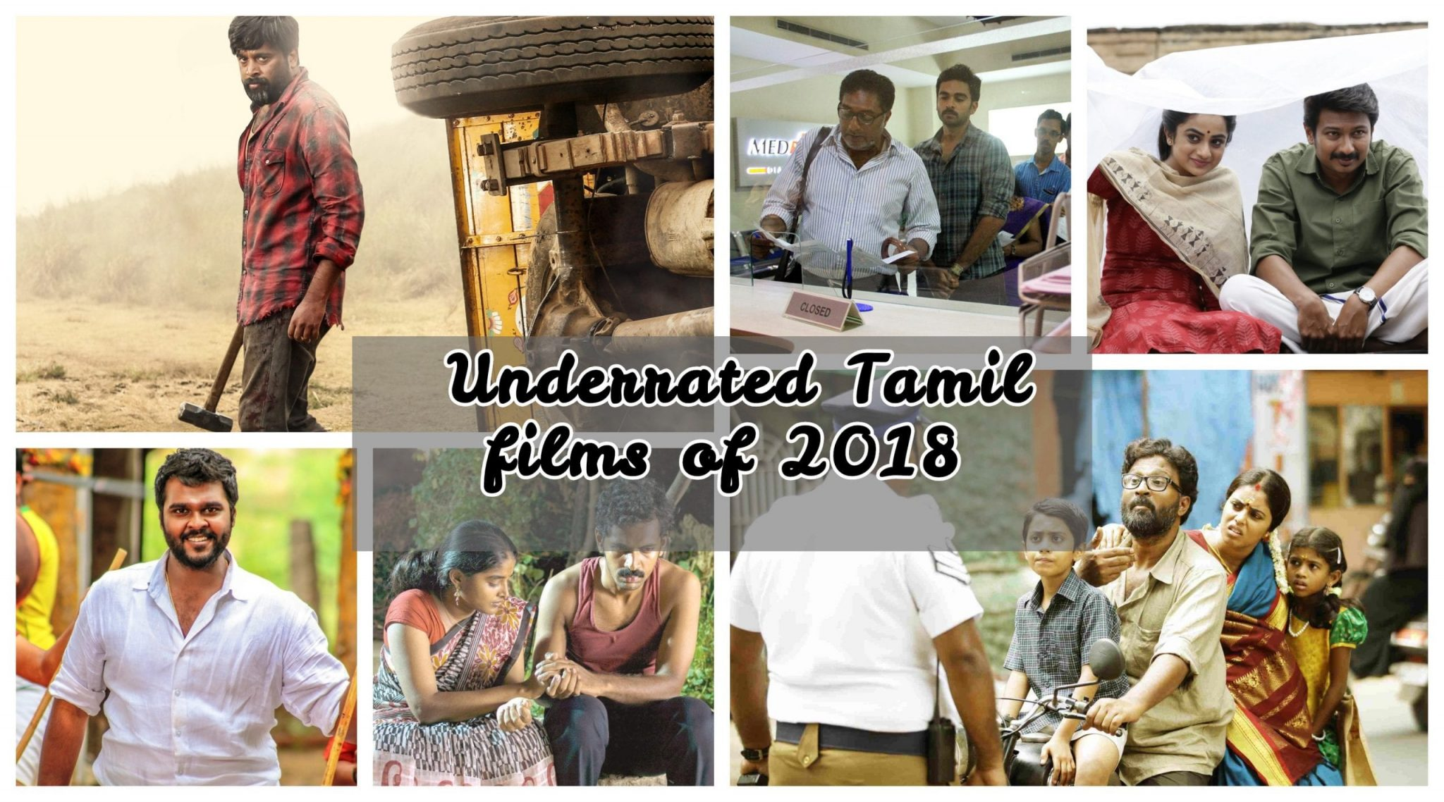 Underrated Tamil films of 2018