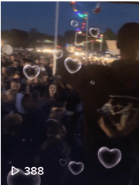 Y3lli en Yung Internet op Mister Makan Live Stage Festival Foodtruck
