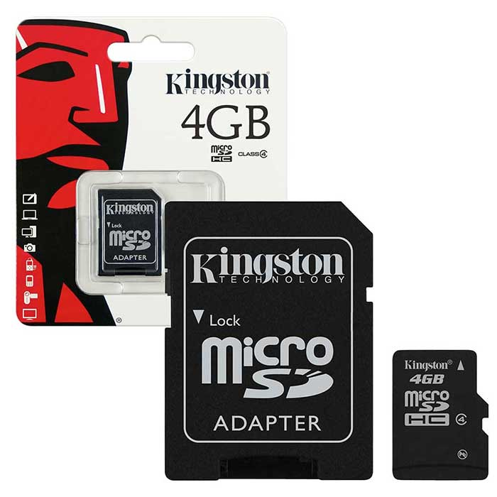 4GB Kingston Class 10 Memory card (Flash Deal with Life time Warrenty )