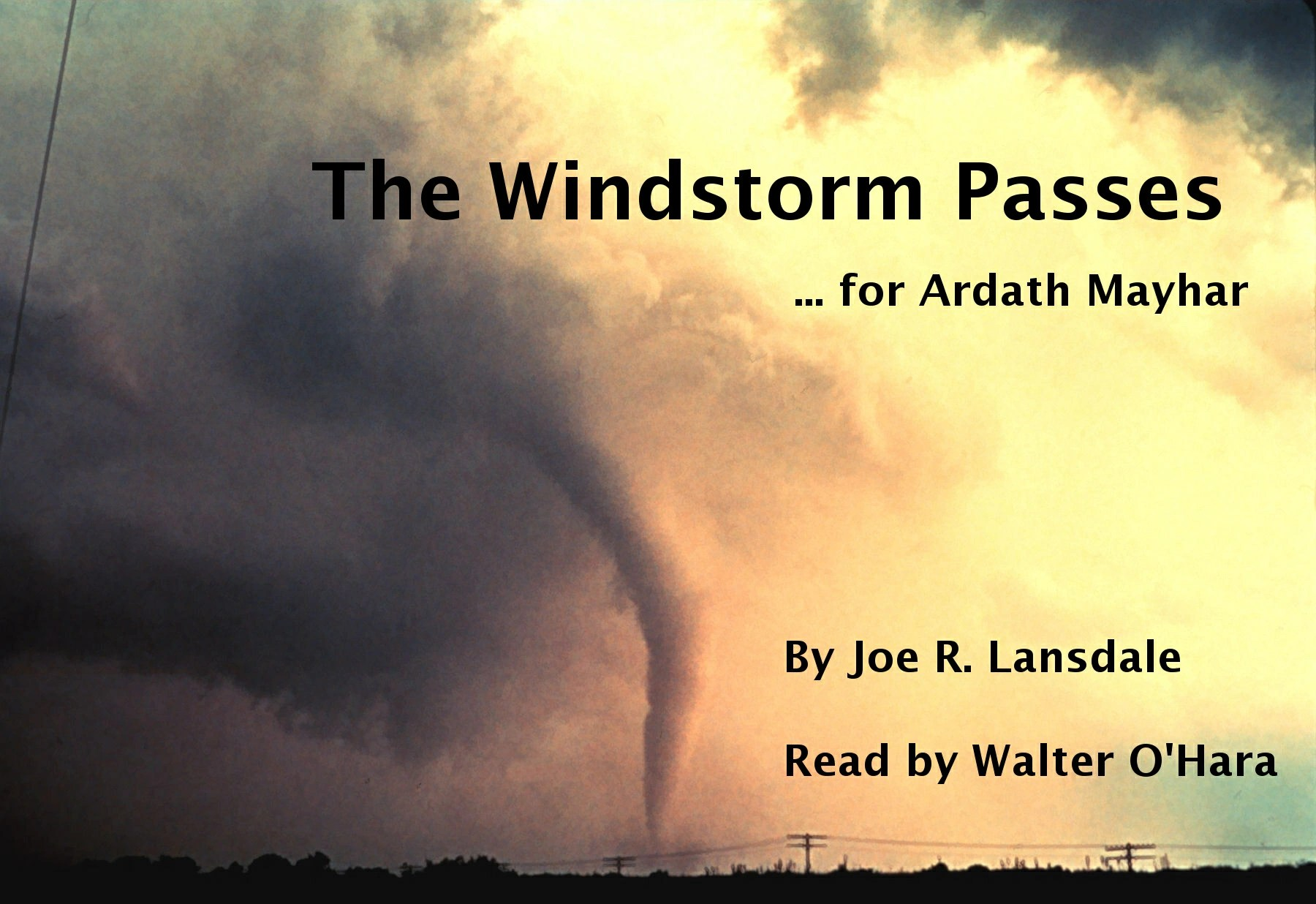 The Windstorm Passes Cover Graphic