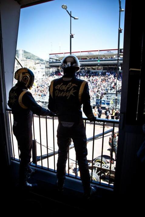 Les Daft Punk au GP de Monaco
