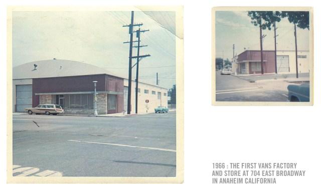 L'entrepôt et le magasin Vans, au 704 East Broadway, Anaheim, Californie.