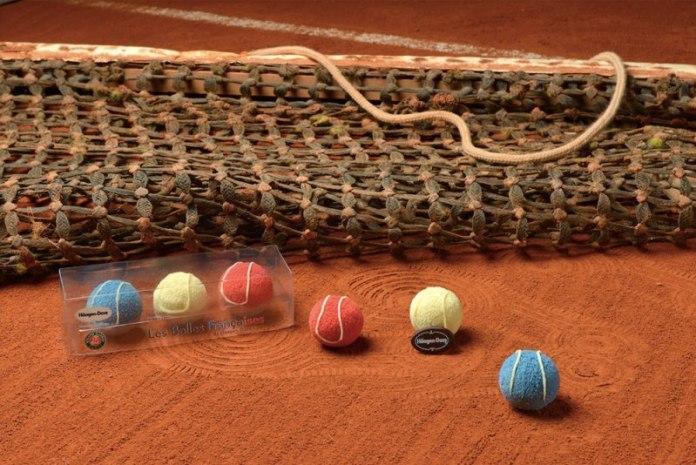 Roland-Garros 2016 : Les Balles Françaises d'Haagen-Dazs