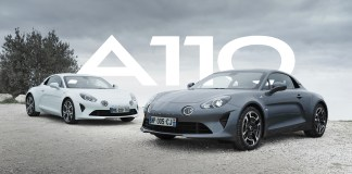 alpine A110 marketing