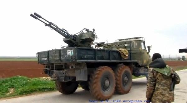 AA guns in Syria (ZU-23-2)