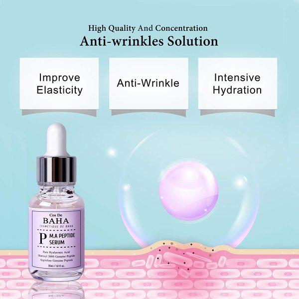 Cos De BAHA Peptide Serum pure anti wrinkle anti ageing