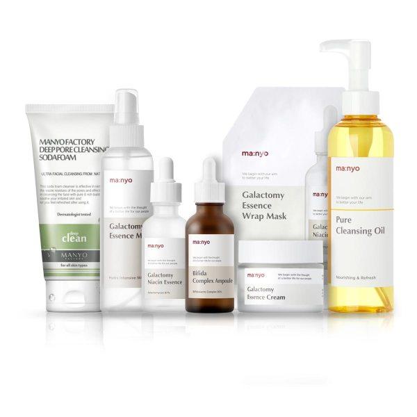 Manyo Basic Full Care set renewed items