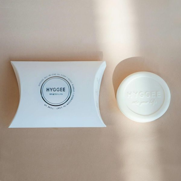 Hyggee All in One Anti-oxidant Hydrogen Soap Packaging