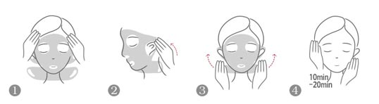 How to use Hyggee tightening & firming msak
