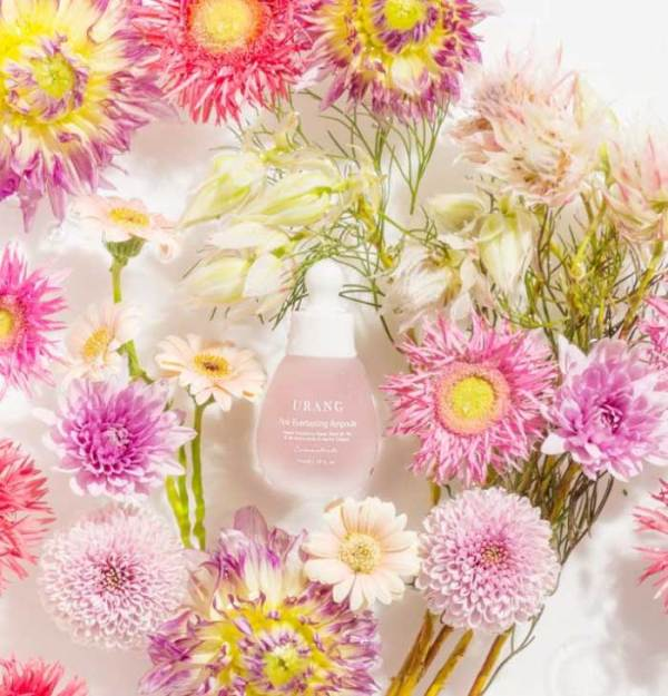 URANG Pink Everlasting Ampoule flower extracts vitamin B12