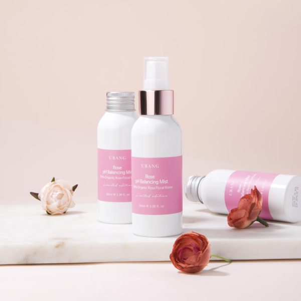 URANG Rose pH Balancing Mist 50-100ml Organic EWG scale safe