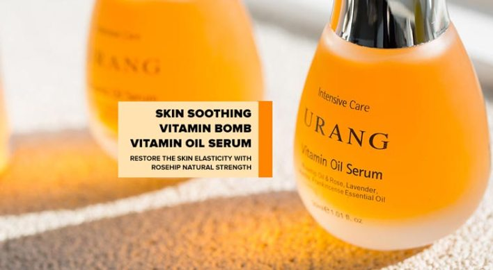 Vitamin oil serum for tired dull mature skin vitamin bomb