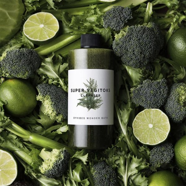 WONDER BATH Super Vegitoks Cleanser Green 300ml reviews feedback how to use