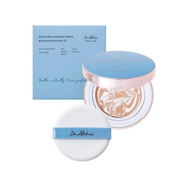 Dr.Althea Double Serum Balm Foundation 12g + 1 Refill