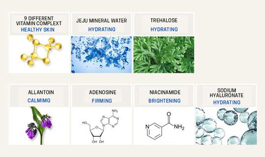 beneficial ingredients