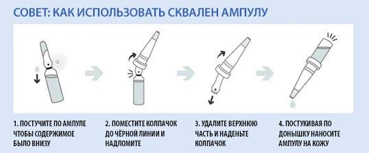 как использовать Dr.Althea Squalane Ampoule Treatment