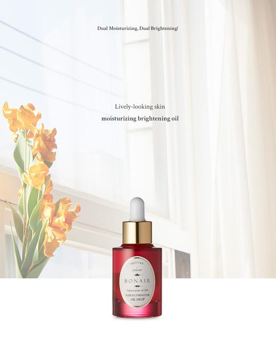 Bonair Rose Illuminator Oil Drop ingredients rosehip