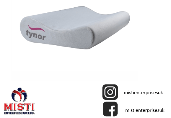 contoured cervical pillow universal for spondylosis back and neck pain