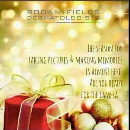Gloria O'Connor with Rodan & Fields Skincare at Mistletoe Madness Holiday Market