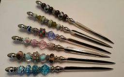 Beads and More custom beaded letter openers