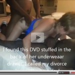 """That""s why i divorced her"" Secret sex tape of a cheating white wife!"