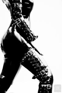 mistress serena rubber 55 bondage catsuit