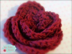 Flor a crochet facil