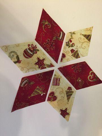 Como hacer una Estrella de Navidad Paso 3