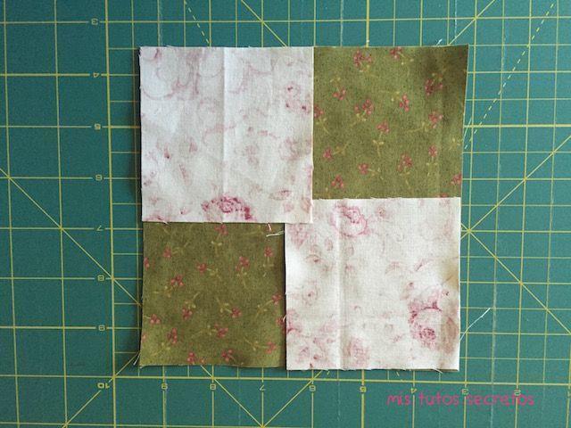 Vuelo de la oca patchwork 1