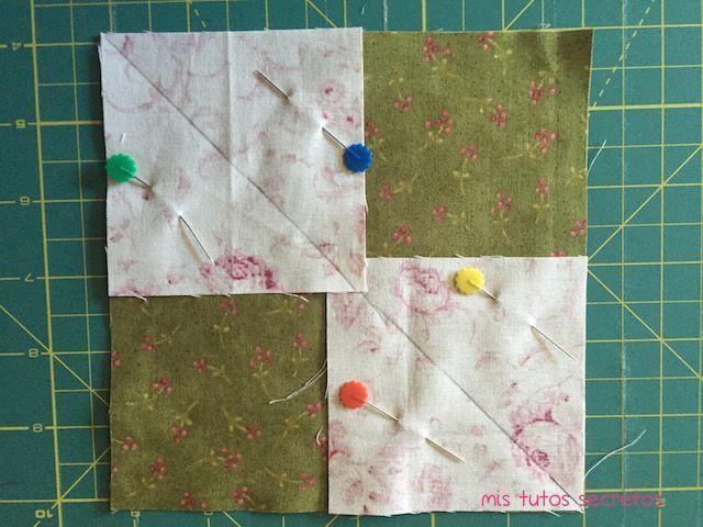 Vuelo de la oca patchwork 2
