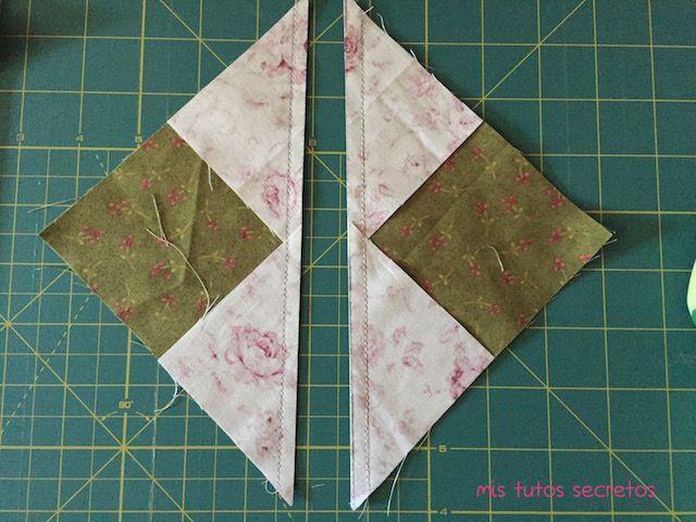 Vuelo de la oca patchwork 4