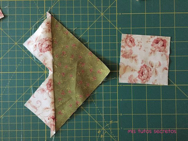 Vuelo de la oca patchwork 5