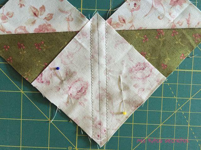 Vuelo de la oca patchwork 7