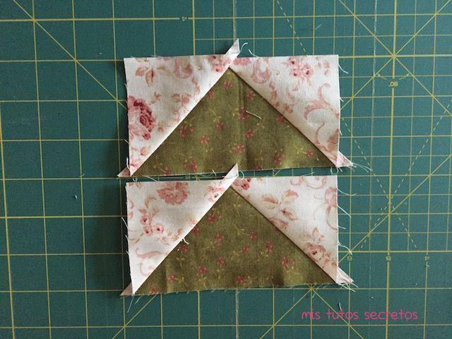 Vuelo de la oca patchwork 8