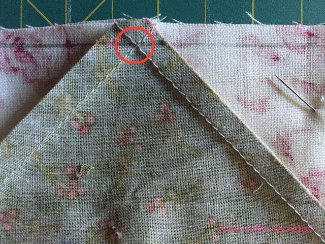 Vuelo de la oca patchwork 10