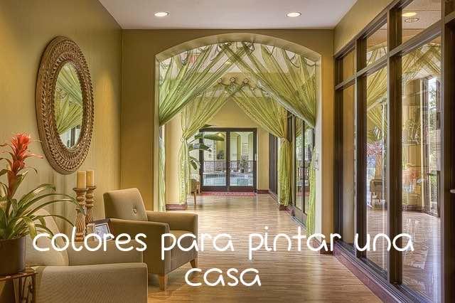Mis tutos secretos diy hazlo tu misma - Que color puedo pintar mi casa ...