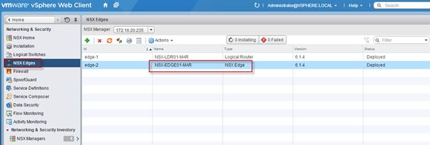 NSX – Edge Services - DHCP - Mistwire