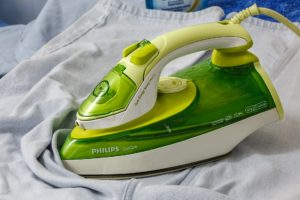 How often do you clean your iron?