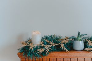 Get your mantle holiday-ready with the following tips!