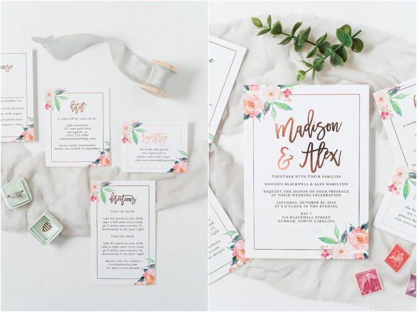 Basic Invite Best Wedding Invitation Suites Wenatchee Photographer Misty C Photography