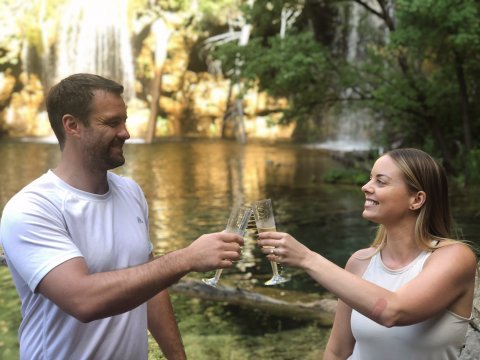 Our engagement story: Misty & Lockie