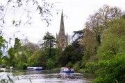 Holy Trinity Church on the Avon River