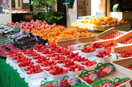 Produce Market Rue Cler