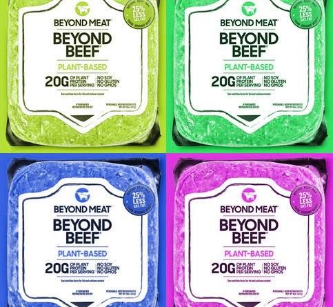 Beyond Beef Pop Art