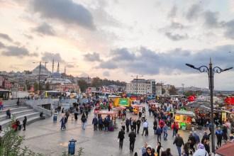 Eminönü, barrio donde se encuentra el puerto de Estambul