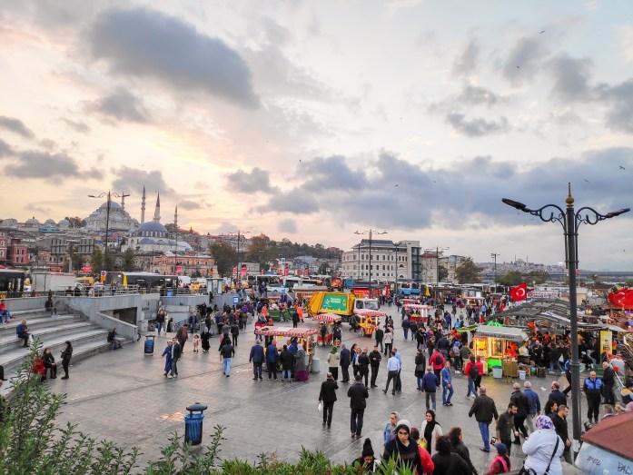 Eminönü, barrio con mucha vida de Estambul