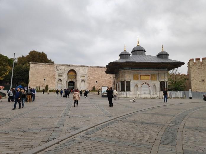 Puerta Imperial Palacio Topkapi Estambul